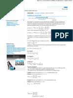 Gradient of a Scalar Field - Web Formulas