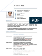 CV Arturo Gaona 5-13