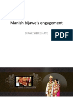 Manish bijawe's engagement
