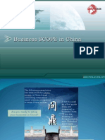 Business Scope CHINA