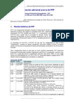 Información adicional acerca de FFP