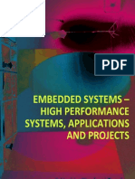 Cover & Table Contents - Embedded Systems-High Performance Systems, Applications and Projects