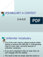 Vocab in Context