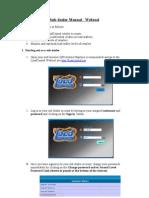 Subdealer Webtool Manual