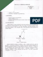 Prática 3 - Pendulo simples