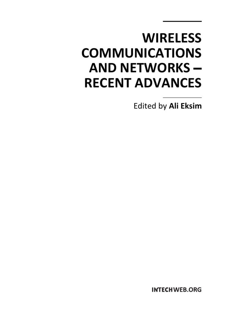 Wireless Communications And Networks Recent Advances Mimo Gtgt Diagram 19 Air Conditioning Heater Blower Wiring Diagrams Antenna Radio