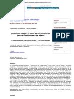 Ingeniería, investigación y tecnología - Análisis de riesgo a la salud de una instalación petrolera del Suroeste de México
