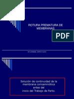 Rotura Prematura de Membranas-2010