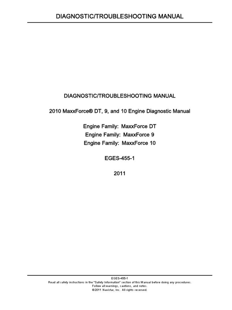 EGES455 | Turbocharger | Diesel Engine