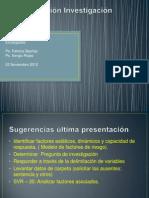 Presentación Avance Investigación II