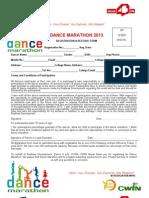 Dance Marathon Registration