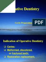 Cavity Preparations