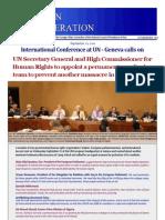 UN Conference to prevent Camp Ashraf Massacre