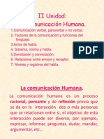 COMUNICACIÒN HUMANA.