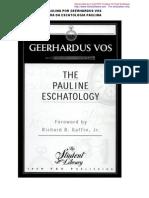 Cap. 1 Escatologia Paulina GVos