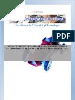 ASPECTE PRIVIND ORGANIZAREA TRAC+óIUNII INTEGRALE