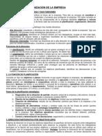La Direccion y Organizacion de La Empresa