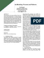 Teaching Data Modeling Paper