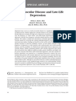 Cerebrovasc Disease and Late Life Depression