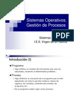 Ut09 Sistemas Operativos Gestic3b3n de Procesos