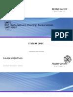 UMTS RNP Fundamentals Ua7 Part 1-SG