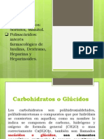 Carbohidratos Vegetales Animales