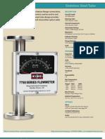 King 7750 Series Flowmeter