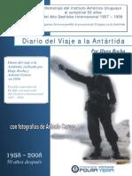 Diario del viaje a la Antártida  - Hugo Rocha - 1958