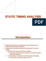 Static Timing Analysis