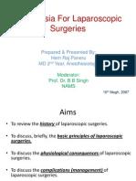58f6Anesthesia For Laparoscopic Surgeries.pptx