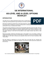Lodge a Level Booklet 2013 for Website