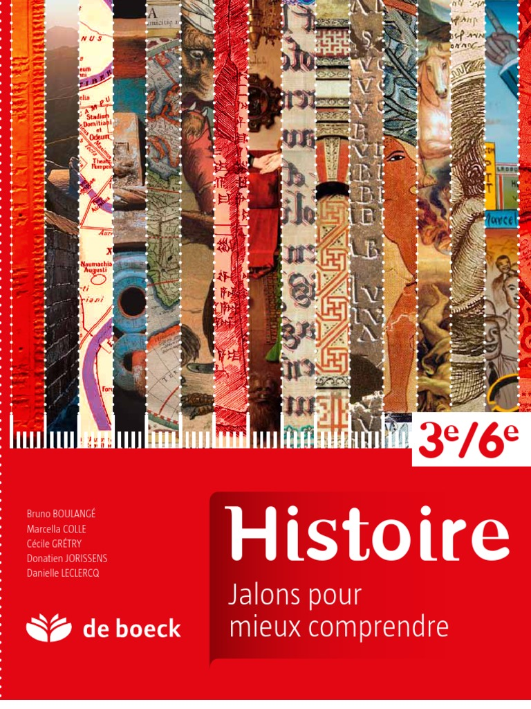 Histoire 3e-6e. Jalons pour mieux comprendre e9d95c85f61