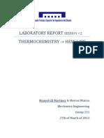 Practice 2 - Laboratorio Chemistry