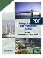 Bridge Standards Manual