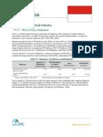 Summary coal industry in Indonesia