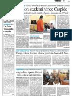 Elezioni studenti, vince Cuspide - Il Resto del Carlino del 24 maggio 2013