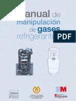 Manual de manipulación de gases refrigerantes fluorados