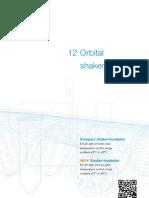 12. Orbital Shaker-Incubators Data Sheet 1.6