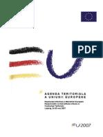 Agenda Teritoriala Europeana Leipzig2007