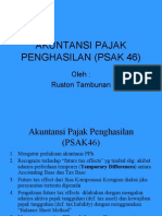 Akuntansi Pajak Penghasilan (Psak 46)