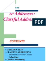IP Address & Subnetting