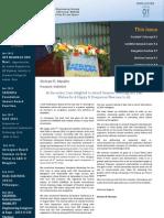 Newsletter 2013 Issue 01