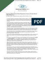 Www.ip Watch.org 2013-02-05 Expiring Gmo Patents Raise r