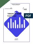 Tableau de Bord Economique (Avril 2013)