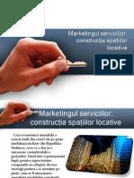 Marketingull Serviciului - Constructia Spatiilor Locative
