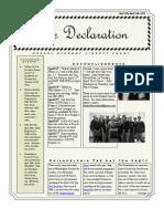 The Declaration 1