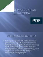 KONSEP KELUARGA SEJAHTERA (1)
