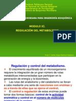 MODULO XI  REGULACION METABÓLICA