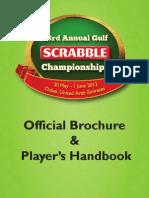 23rd Annual Gulf Scrabble Championships