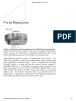 P is for Prescriptive an a-Z of ELT